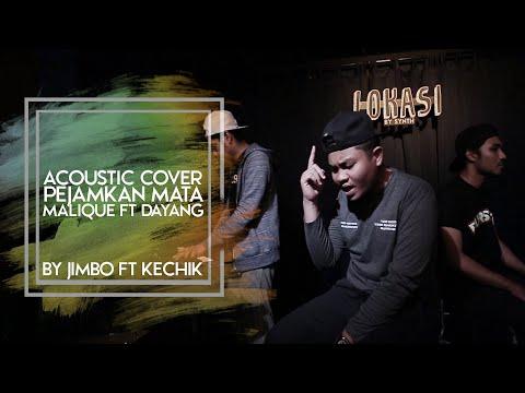 Malique ft Dayang Nurfaizah - Pejamkan Mata (Cover by Jimbo ft Kechik Melodians)