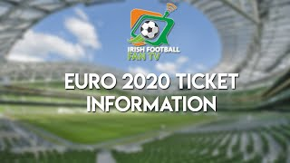 EURO 2020 TICKETS PORTAL OPENS WEDNESDAY | INFORMATION FOR BUYING TICKETS |