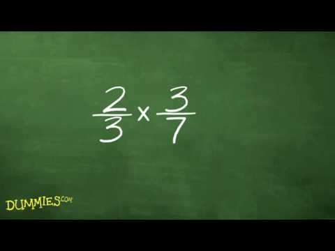 How to multiply and divide fractions in algebra for dummies youtube ccuart Image collections
