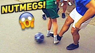 Amazing Panna Football SKILLS! ★ SkillTwins