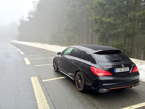 2015 Mercedes-AMG CLA 45 Shooting Brake - by Autovisie TV