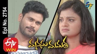 Manasu Mamata | 16th November 2019  | Full Episode No 2754 | ETV Telugu