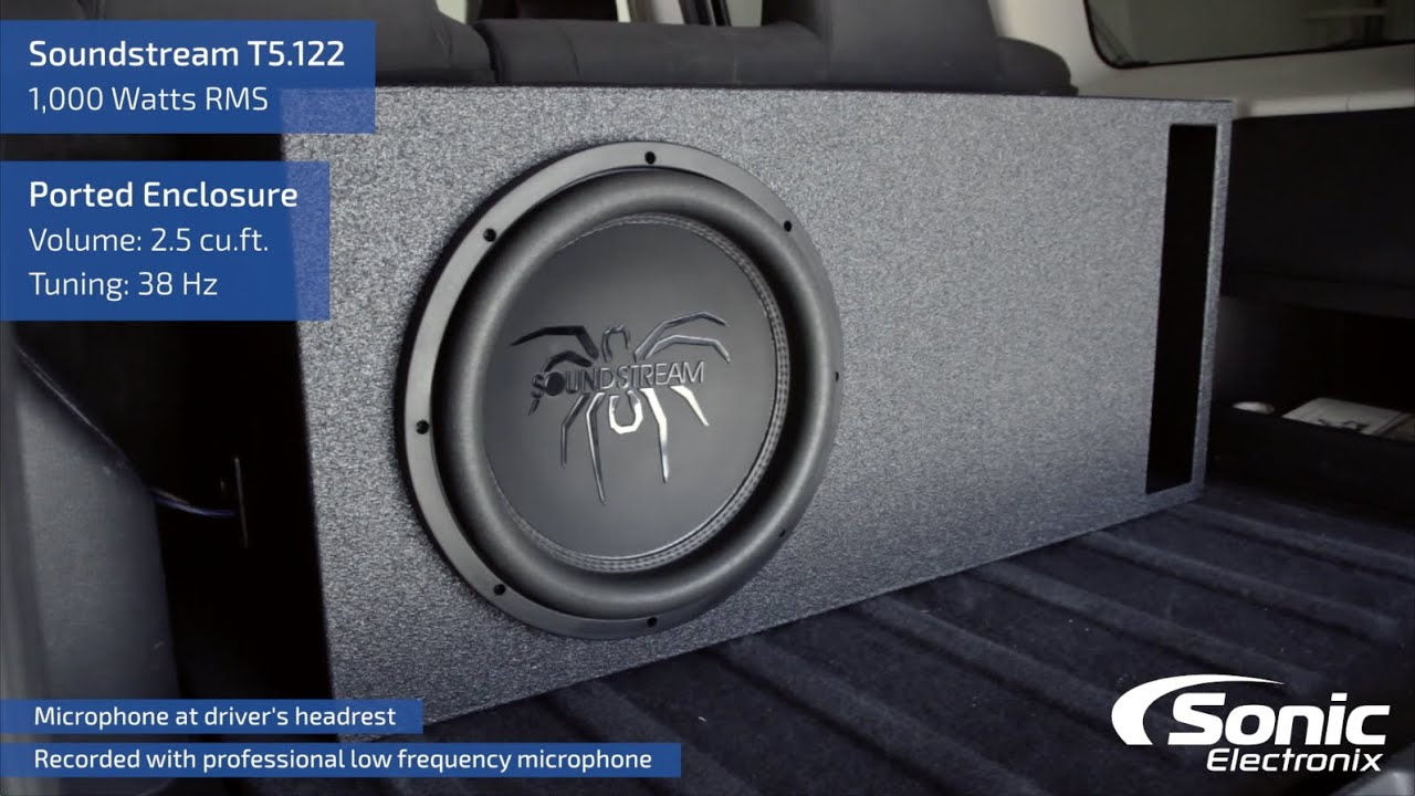 Soundstream T5 122 Car Subwoofer Bass Demo Youtube
