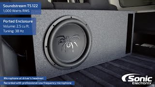 SoundStream T5.122 Car Subwoofer | Bass Demo