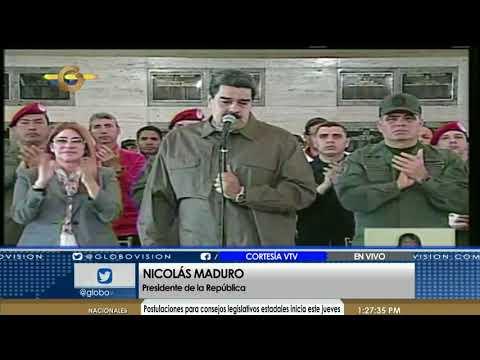 Noticias Globovisión -  Maduro: Chávez fue una escuela de ejemplo, exigencia y autoexigencia