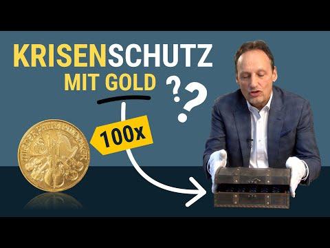 Gold Als Krisenschutz? Kleine Münzen Als Tauschmittel! [1/10 Oz Gold Philharmoniker]
