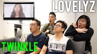 "LOVELYZ always shine and ""TWINKLE"" (MV Reaction)"