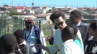 Princess Anne concluded her 3 day visit to South Africa in Cape Town on Wednesday 18 April 2012. Aletta Gardner reports.