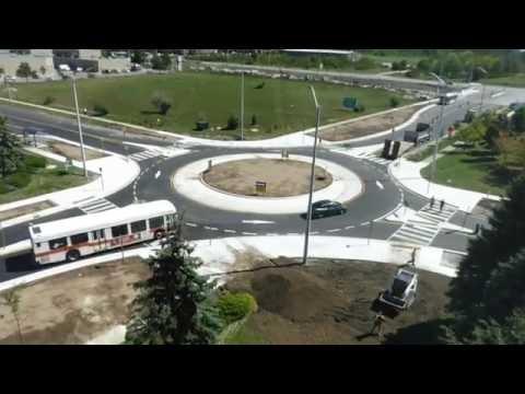 New Roundabout - Skymark & Explorer, Mississauga, Ontario