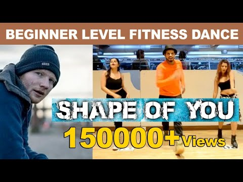 Shape Of You- Ed Sheeran | Zumba Dance Routine | Dil Groove Mare | By Akshay Jain