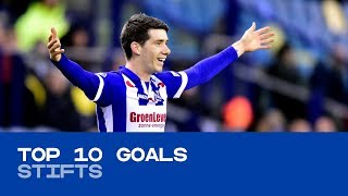 TOP 10 GOALS 2017/'18 | Stifts en lobjes