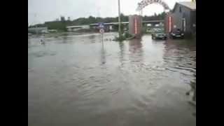 Кострома потоп  29 06 2013
