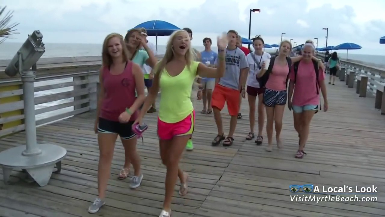 The Pier At Garden City Beach South Carolina Youtube