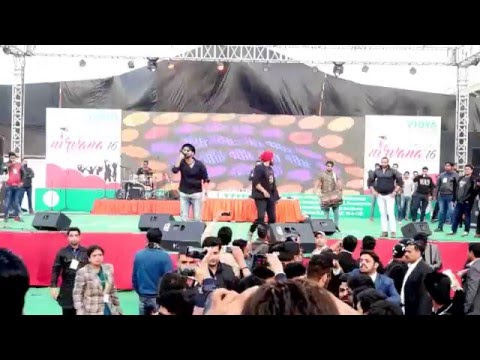 Live Performance of Raftaar  | Swag Mera Desi  | @Vidya Knowledge Park