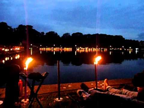 Musik und Licht am Hollersee 2011