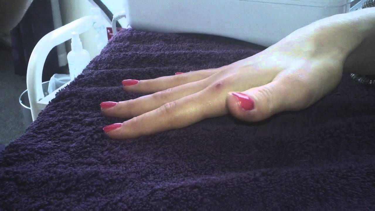 The Belmore Centre Shellac Gel Manicure - YouTube