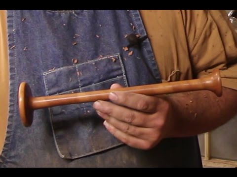 Doing a Little Woodturning:  Making a Replica of an Antique Stethoscope