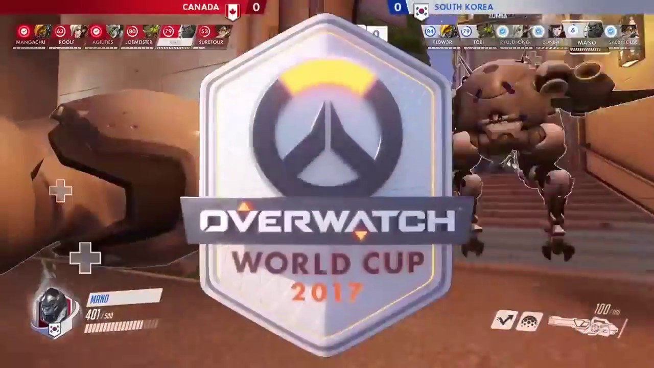 Canada Vs South Korea Overwatch