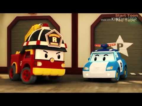 Robocar poli|Kumpulan film kartun anak keren|Eps 2 ulang tahun Helli