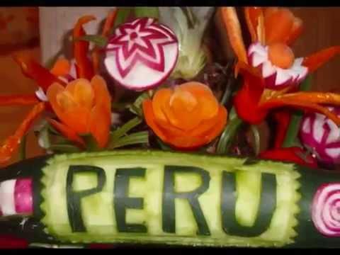 Aprenda decorar sus eventos con frutas y vegetales for Decoracion con verduras