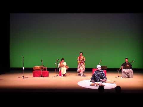 熊本支援コンサートHANA  どじょうすくい踊り(安来節)日本一