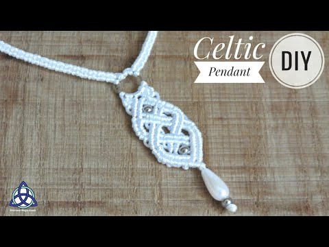 Macrame Celtic Necklace -Jewelry  ♥ DIY ♥