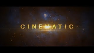 Free After Effect Template - Glitch Space Cinematic