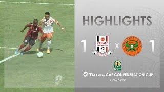Zanaco FC 1-1 RS Berkane | HIGHLIGHTS | Match Day 2 | TotalCAFCC