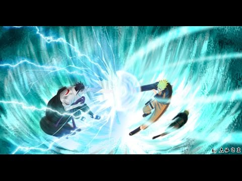 Naruto Shippuden OST(Soundtrack)-Naruto vs Sasuke-AMV- Reverse Situation