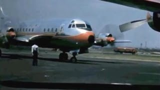 "American Lockheed L-188A Electra - ""Ramp Action Idlewild"" - 1960"