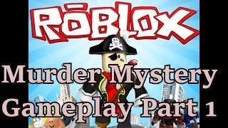 NeoGamer-G. R.U. jogando Roblox Murder Mystery parte 1