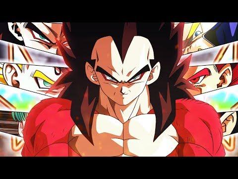 FINALLY! The FULLY Rainbow'd LR SSJ4 Vegeta's Family Team! Dragon Ball Z  Dokkan Battle