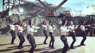 Snsd catch me if you can - colour corrected