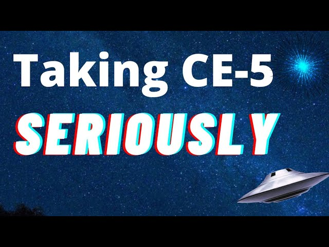 Taking CE-5 Seriously