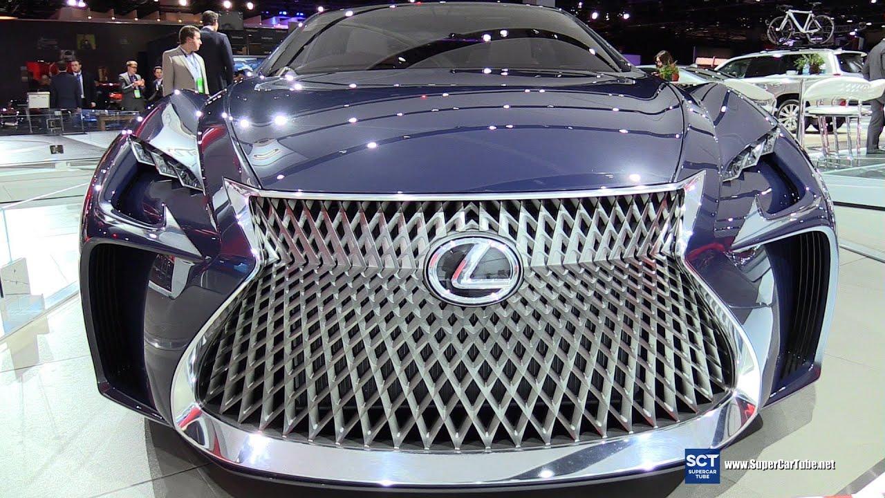 Lexus LFFC Concept Exterior Walkaround Detroit Auto - Concept car show
