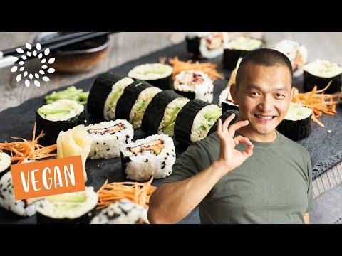 Vegane Sushi selber
