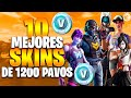 🔥 CUALES SON LAS 10 MEJORES SKINS DE FORTNITE DE 1200 PAVOS ?🔥 I Ranking 10 Mejores Skins Raras 2020