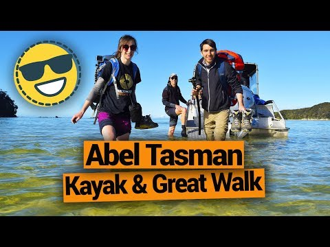 Great Walk & Kayak in Abel Tasman National Park - New Zealand's Biggest Gap Year