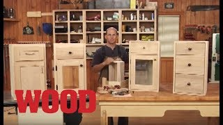 How to Easily Make Doors and Drawers - WOOD magazine