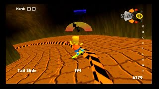 The Simpsons Skateboarding PS2 Playthrough Part 3