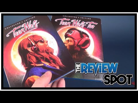 Blu Ray Spot | Shout Factory Teen Wolf and Teen Wolf Too on Blu Ray!