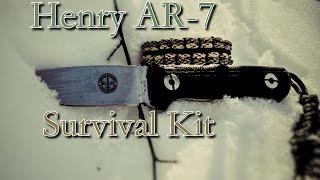 İnanılmaz Henry Bir AR-7 Hayatta kalma Kiti   nasıl