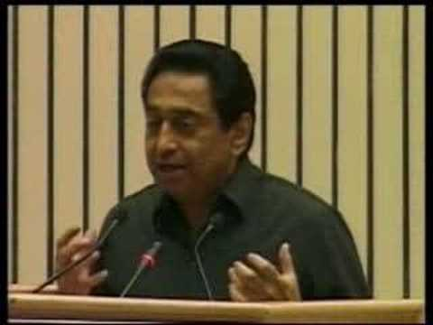 Kamal Nath addresses 6th Indian Diaspora Meet