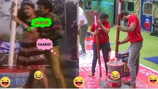Aarav Gayatri Task Troll - BiggBoss Troll Video