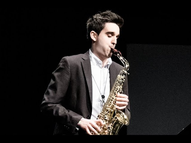 CARLOS ZARAGOZA - FINAL ROUND - V ANDORRA INTERNATIONAL SAXOPHONE COMPETITION 2018