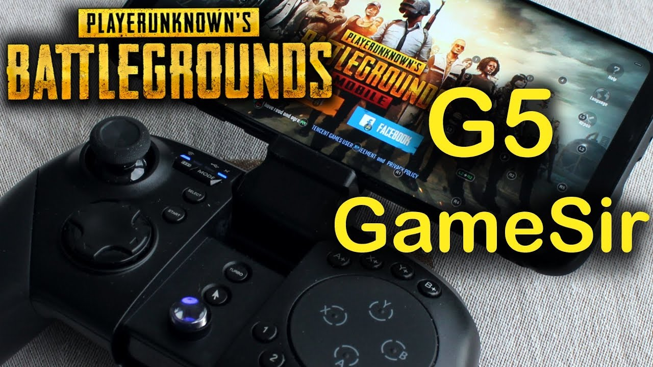 Pubg Mobile With Gamesir G5 Controller Youtube -