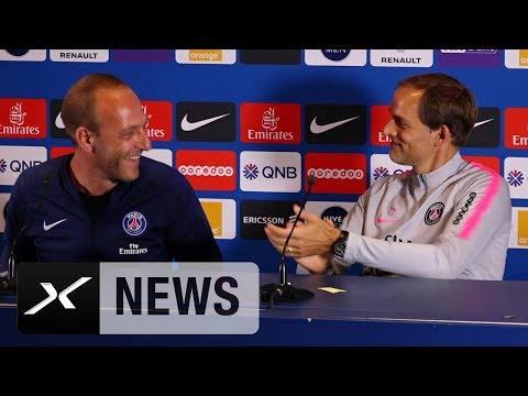 'Champions League?' Thomas Tuchel hat Spaß mit Übersetzer | Paris Saint-Germain | SPOX