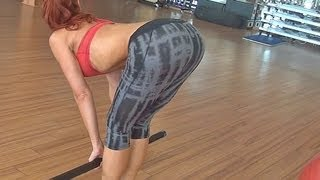 Great Butt Lift Workout in the Gym!!