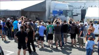 Top Fuel Throttle Spectators Reaction