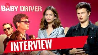 BABY DRIVER | Interview mit Ansel Elgort und Lily James | FredCarpet